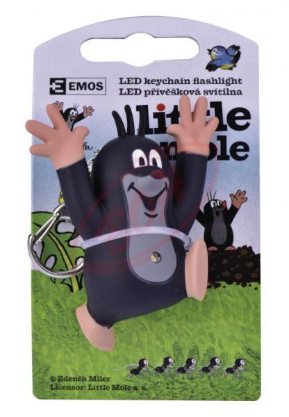 LED svietiaci prívesok na kľúče Krtko da2783b01ac