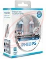 H4 12V 60/55W P43T+W5W Philips WhiteVision, set 2 ks